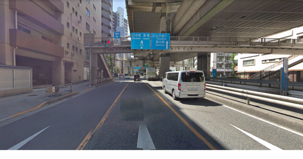 赤羽駅_多車線_国道17号